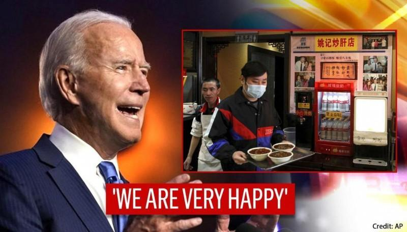 'We're old friends': China's noodle restaurant happy with Biden's win, recalls 2011 visit