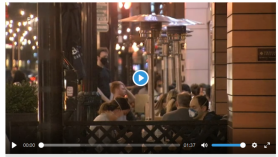 Restaurants soak up extended patio season, unseasonably warm weather while enduring COVID-19 restrictions