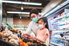 A Covid vaccine could mean a slowdown in growth for grocers that benefited from shuttered restaurants, report says