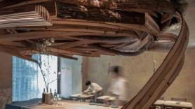 Embers restaurant in Taipei features a