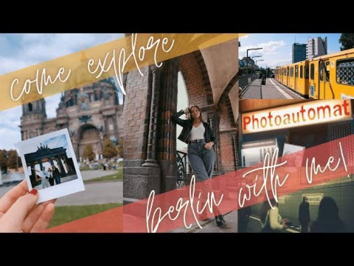 EXPLORE BERLIN WITH ME! hidden gems, favourite restaurants, fun date spots and more!