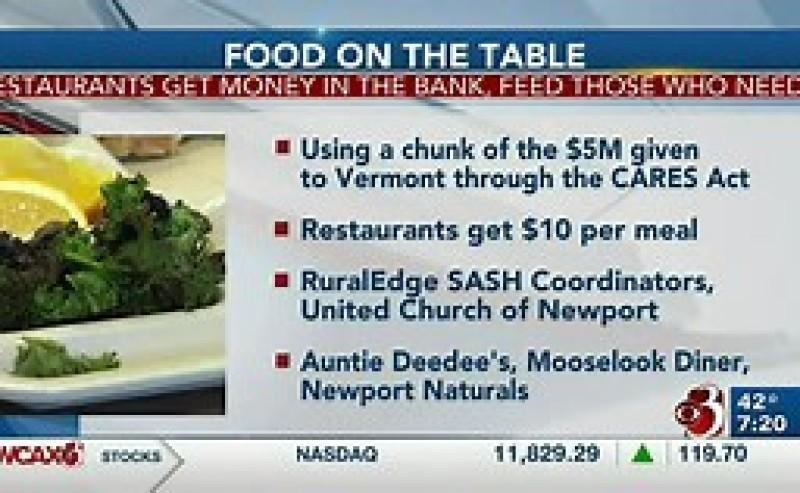 NEK restaurants, non-profit work together to put food on the table