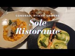 Sole Ristorante, Condrad, Etihad Towers, Abu Dhabi Launch ll Italian Restaurant in Abu Dhabi