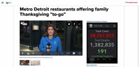 Metro Detroit restaurants offering family Thanksgiving