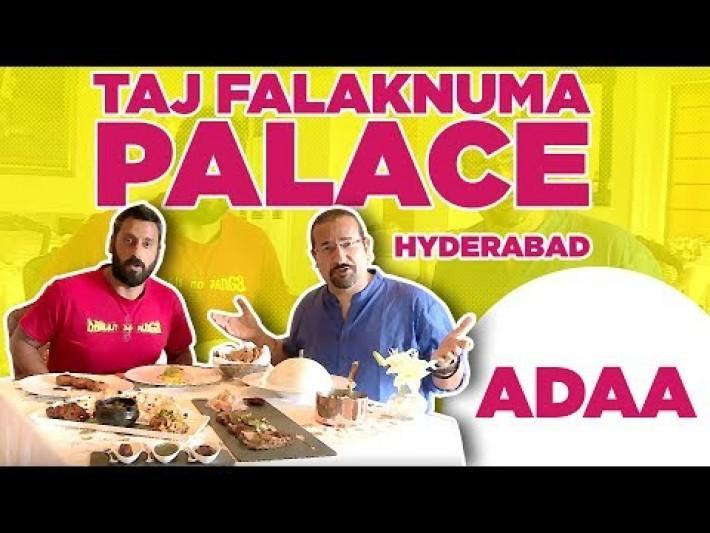 Taj Falaknuma Palace | Adaa Restaurant |Best Indian Cuisine in Hyderabad | Indias Best Restaurants