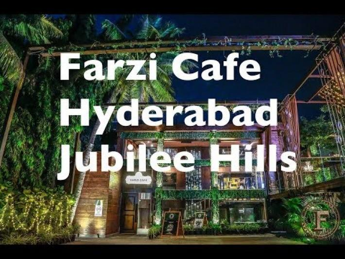 Farzi Cafe Hyderabad | Jubilee Hills