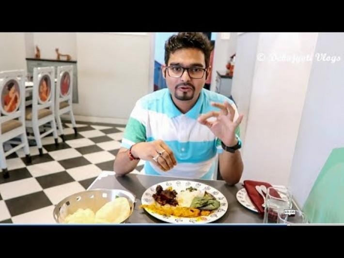 6 Ballygunge Place, Authentic Traditional Bengali Buffet Lunch || Bengali Vlog