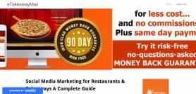 Social Media Marketing for Restaurants & Takeaways  A Complete Guide