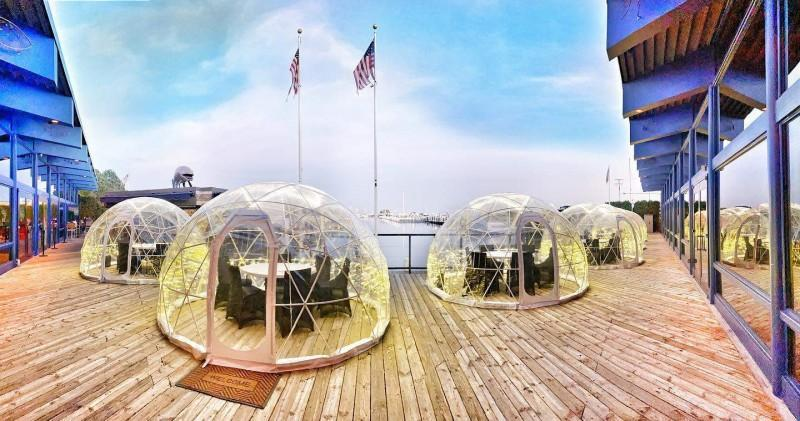 12 restaurants that offer igloo dining in and near Metro Detroit