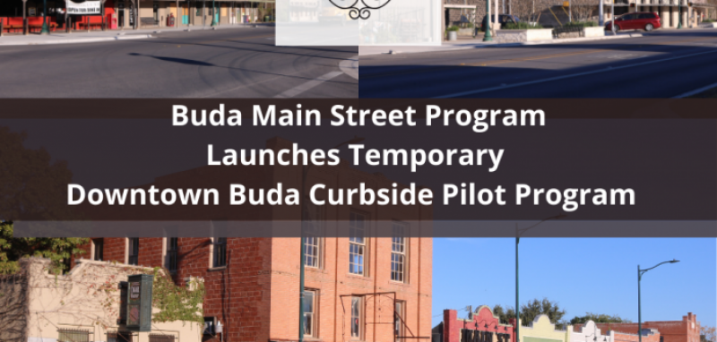Buda Downtown to open temporary curbside parking for restaurants