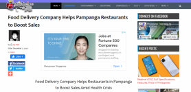 Food Delivery Company Helps Pampanga Restaurants to Boost Sales