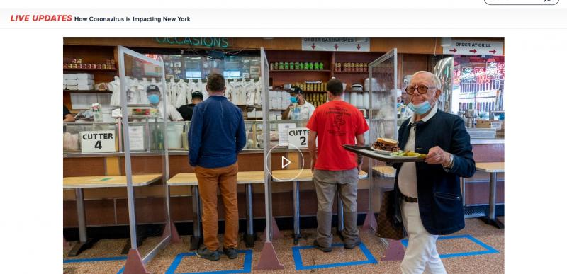 Looming Shutdown of Indoor Dining Has NYC Restaurant Scene on Edge