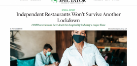 Independent Restaurants Won t Survive Another Lockdown