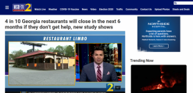 4 in 10 Georgia restaurants will close in the next 6 months if they don't get help new study shows
