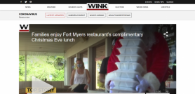 Families enjoy Fort Myers restaurant's complimentary Christmas Eve lunch