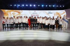 Michelin awards for restaurants chefs in Thailand