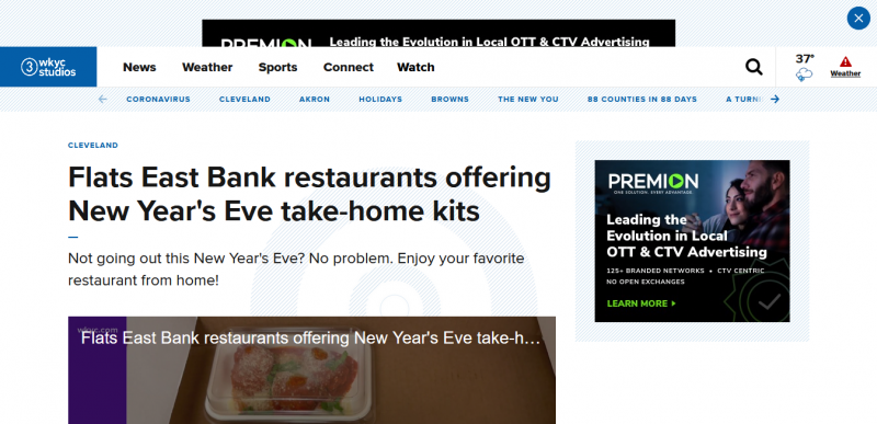 Flats East Bank restaurants offering New Year's Eve take-home kits