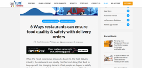 How can Restaurants Ensure Food Quality & Safety During Delivery?