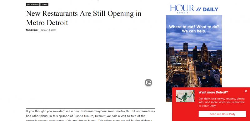 New Restaurants Are Still Opening in Metro Detroit Hour Detroit Magazine