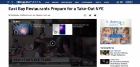 East Bay Restaurants Prepare for a Take-Out NYE