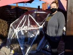 Wichita Restaurants Hope Heaters And Igloos Will Keep Outdoor Diners Coming During Pandemic