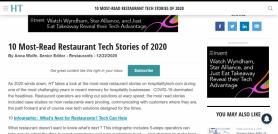 10 Most-Read Restaurant Tech Stories of 2020