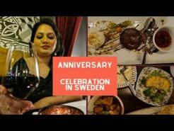 ANNIVERSARY CELEBRATION IN SWEDEN | SILVIS RESTAURANT | SPARKLEWITHJYOTI