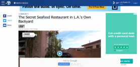 The Secret Seafood Restaurant in L.A.'s Own Backyard