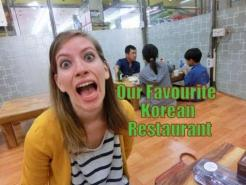 Our Favorite Korean Restaurant in South Korea