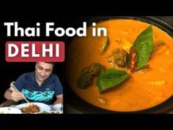 Exploring Thai food in Delhi at Bercos