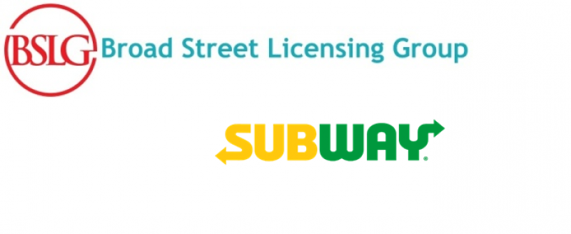 Subway Restaurants Partners with Broad Street Licensing Group To Deliver Licensed Products to Fans Globally