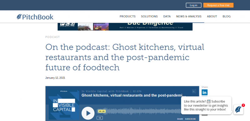 On the podcast: Ghost kitchens, virtual restaurants and the post-pandemic future of foodtech