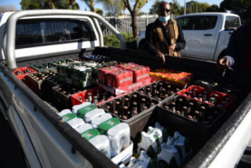 Township restaurants and pubs feel the pinch of Covid-19 booze ban