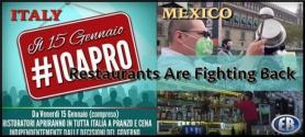 "Italian Restaurants Defy Lockdown with ""I Am Open"" Movement"