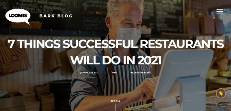 7 Things Successful Restaurants Will Do in 2021