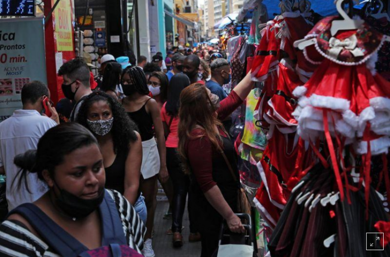 Brazil's Sao Paulo state to close restaurants, shopping malls for Christmas and New Year