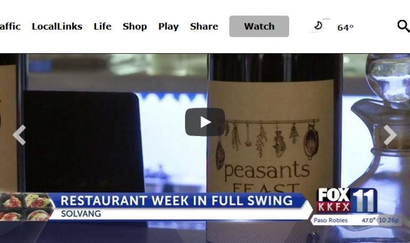 Santa Ynez Valley Restaurants Week focuses on takeout during pandemic