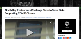 North Bay Restaurants Challenge State to Show Data Supporting COVID Closure