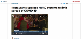 Restaurants upgrade HVAC systems to limit spread of COVID-19
