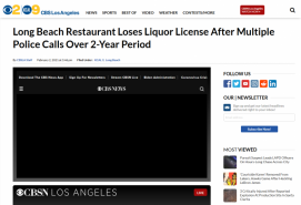 Long Beach Restaurant Loses Liquor License After Multiple Police Calls Over 2-Year Period