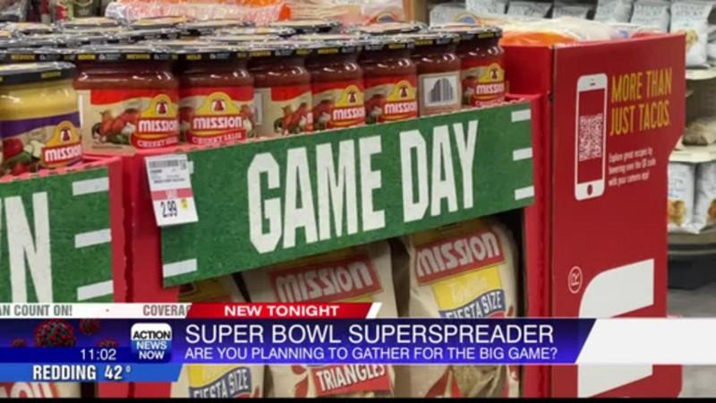 Super Bowl Sunday, large gatherings are prohibited but some restaurants will be hosting