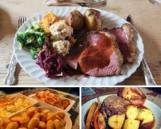 Where to get get a takeaway Sunday roast in Oxfordshire