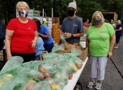 Grants to Church Food Pantries Promote Purchases from Local Farmers, Restaurants