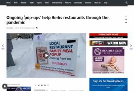 Ongoing 'pop-ups' help Berks restaurants through the pandemic
