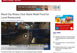 Reed City Rotary Club Starts Relief Fund for Local Restaurants 9 & 10 News