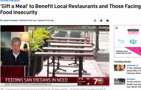 'Gift a Meal' to Benefit Local Restaurants and Those Facing Food Insecurity