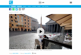 Restaurants and museums reopen as Italy relaxes coronavirus curbs