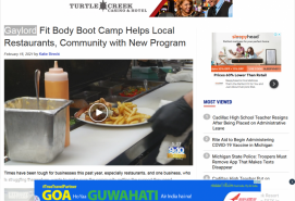 Gaylord Fit Body Boot Camp Helps Local Restaurants, Community with New Program 9 & 10 News