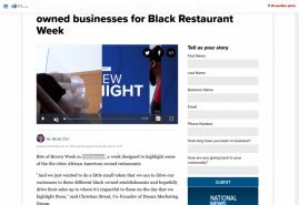 Groups partnering with African American owned businesses for Black Restaurant  Week