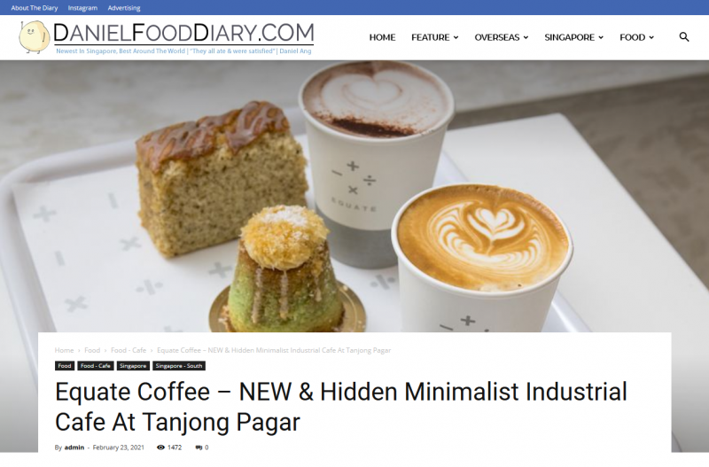 Equate Coffee – NEW & Hidden Minimalist Industrial Cafe At Tanjong Pagar